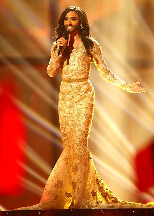 conchita wurst dress