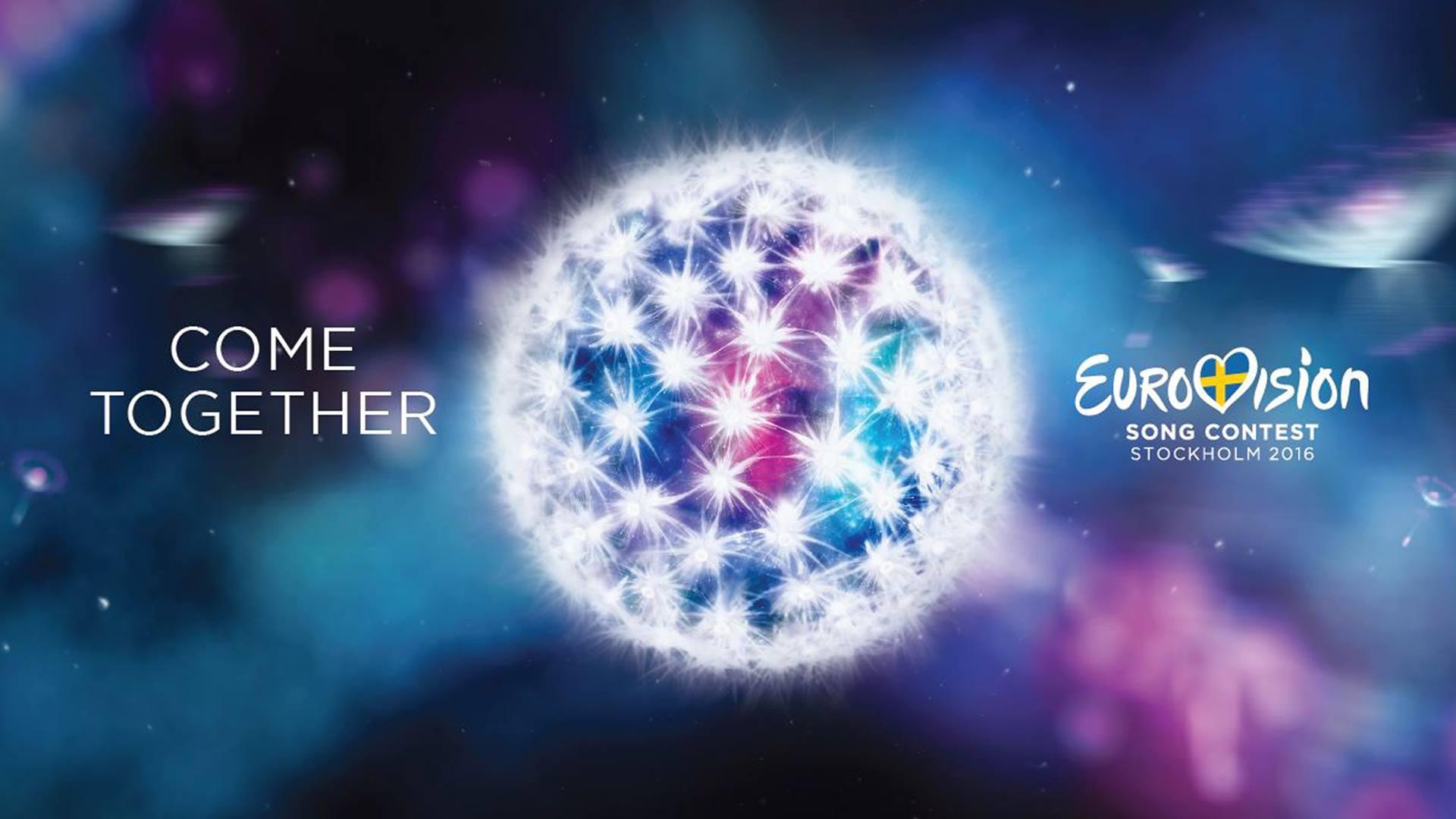 eurovision 2016 logo l 39 eurovision au quotidien. Black Bedroom Furniture Sets. Home Design Ideas