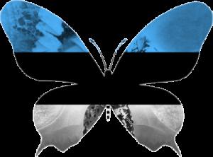 Estonie-papillon
