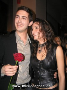 Despina et son boyfriend Michalis