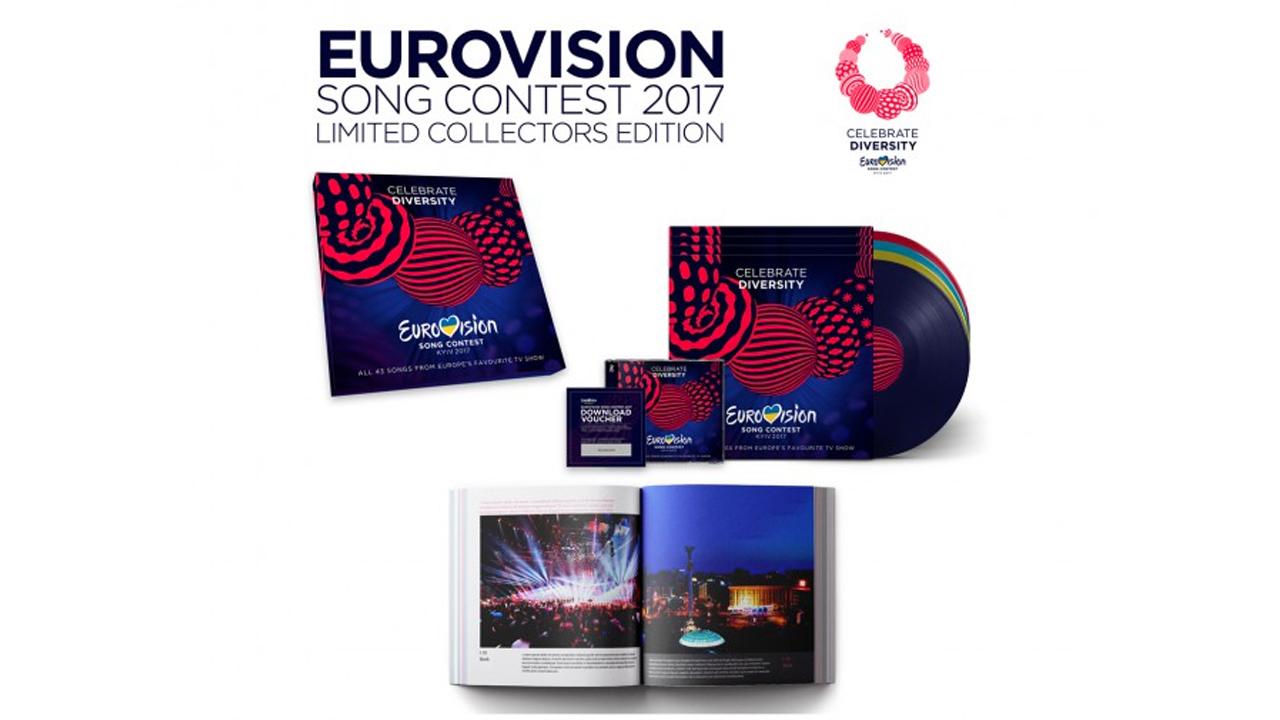 Eurovision 2017 : l'album officiel disponible