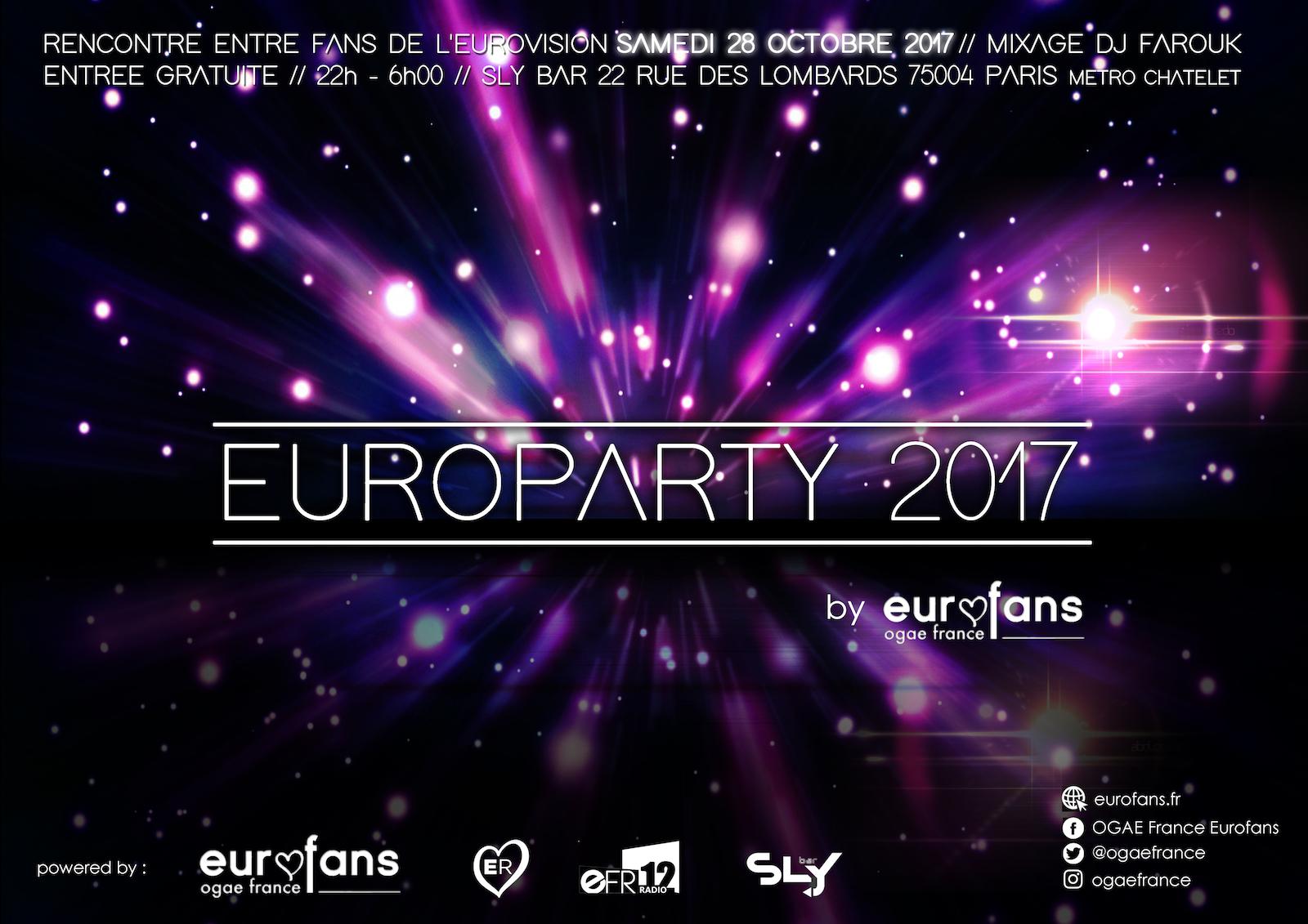 OGAE France : EuroParty 2017