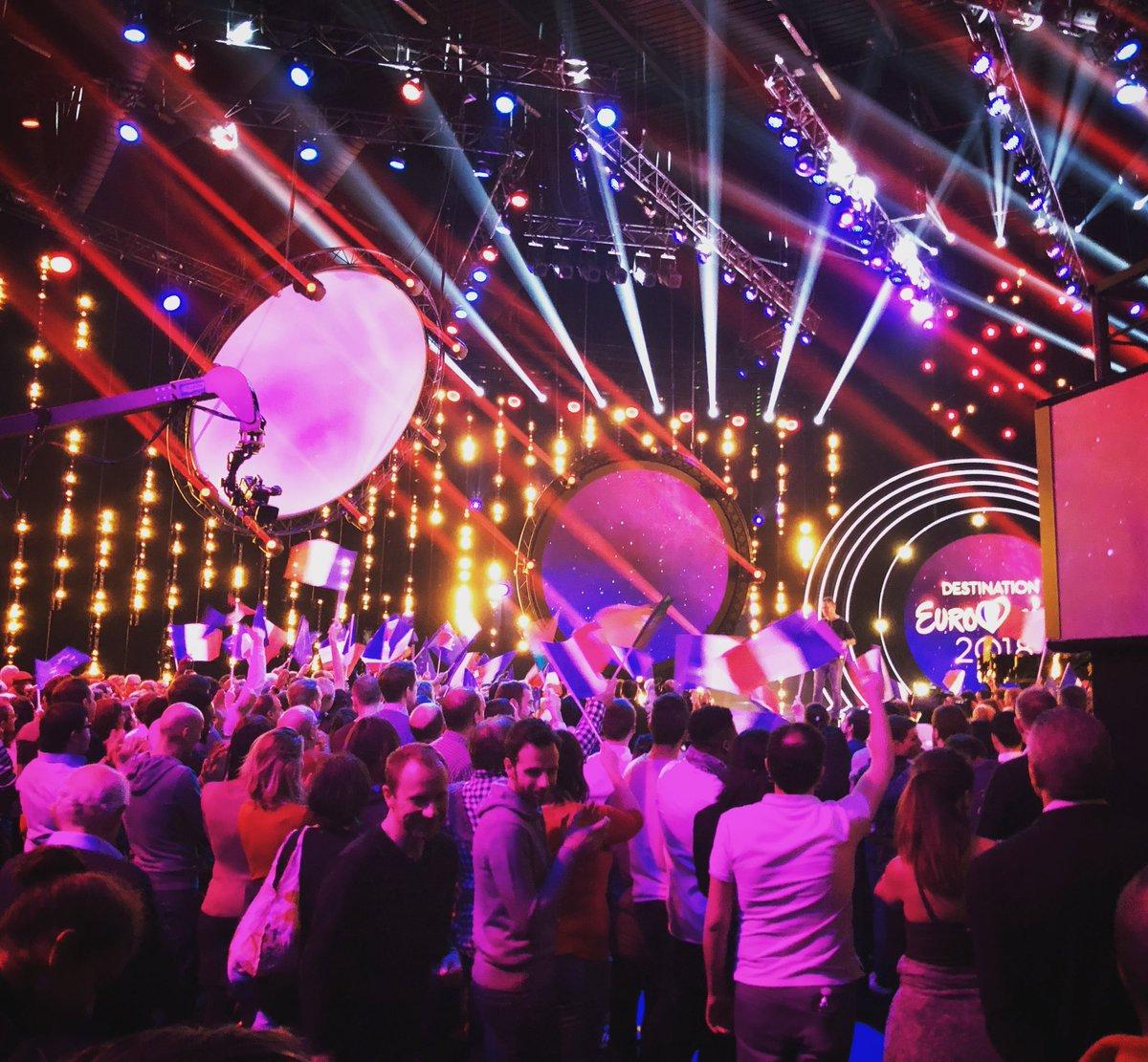 Ce soir : Destination Eurovision DF1 – (mise à jour : les résultats)