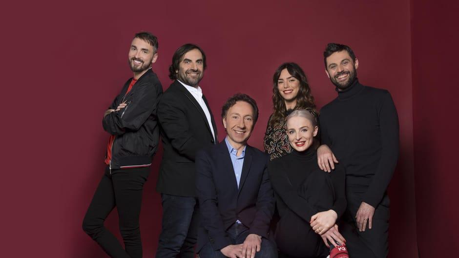 France 2018 : Interviews de l'équipe des présentateurs et de Madame Monsieur