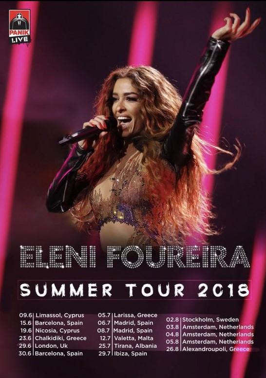 Chypre 2018 : Eleni Foureira sur tous les fronts