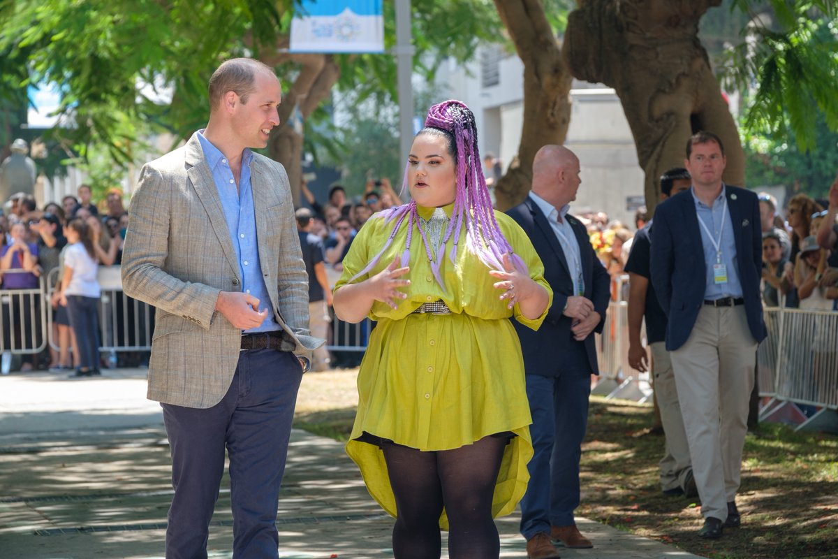 Israël 2018 : rencontre princière pour Netta