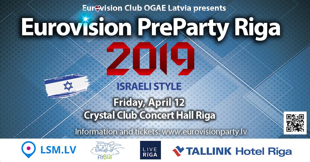 Ce soir : Eurovision PreParty Riga 2019