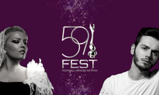 Festivali i Këngës 2020 : annonce des dix-huit finalistes