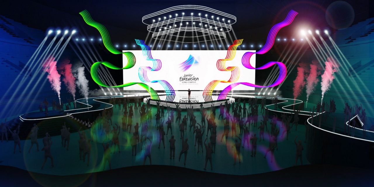 Eurovision Junior 2019 : présentation de la scène