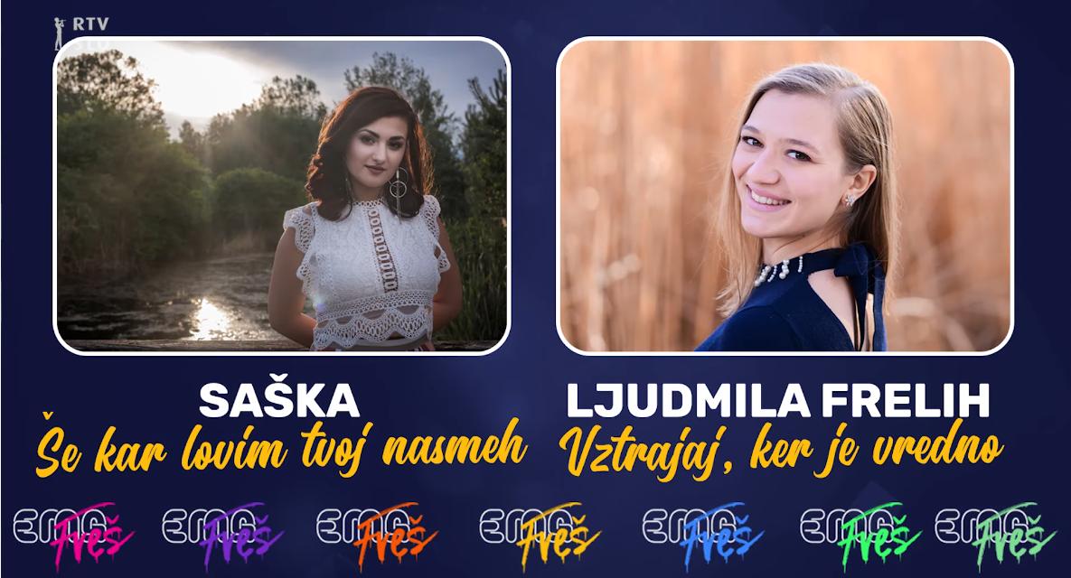 Slovénie 2020 – EMA FREŠ : Saška ou Ljudmila Frelih ? [Mise à jour : Saška remporte le duel 7]