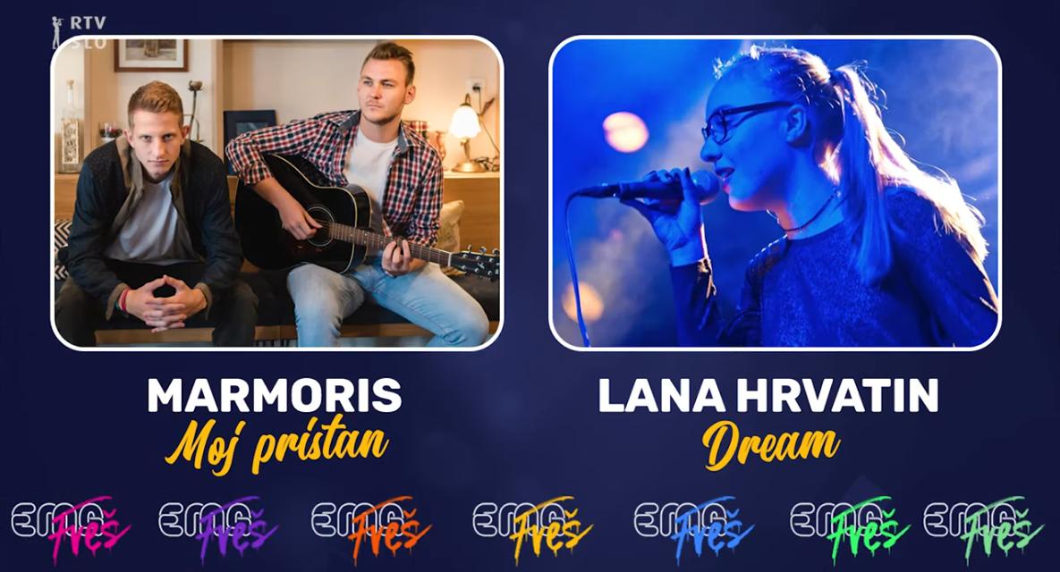 Slovénie 2020 – EMA FREŠ : Marmoris ou Lana Hrvatin ? [Mise à jour : Marmoris remporte le duel 9]