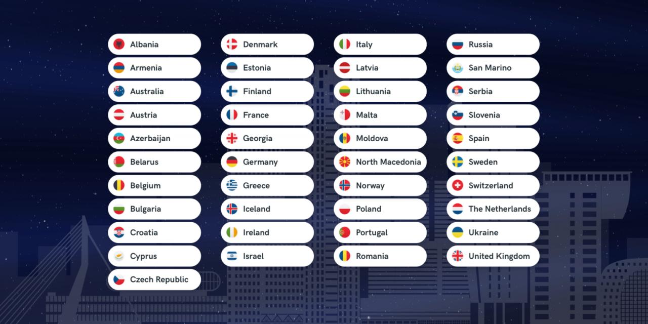 Rotterdam 2020 : 41 participants