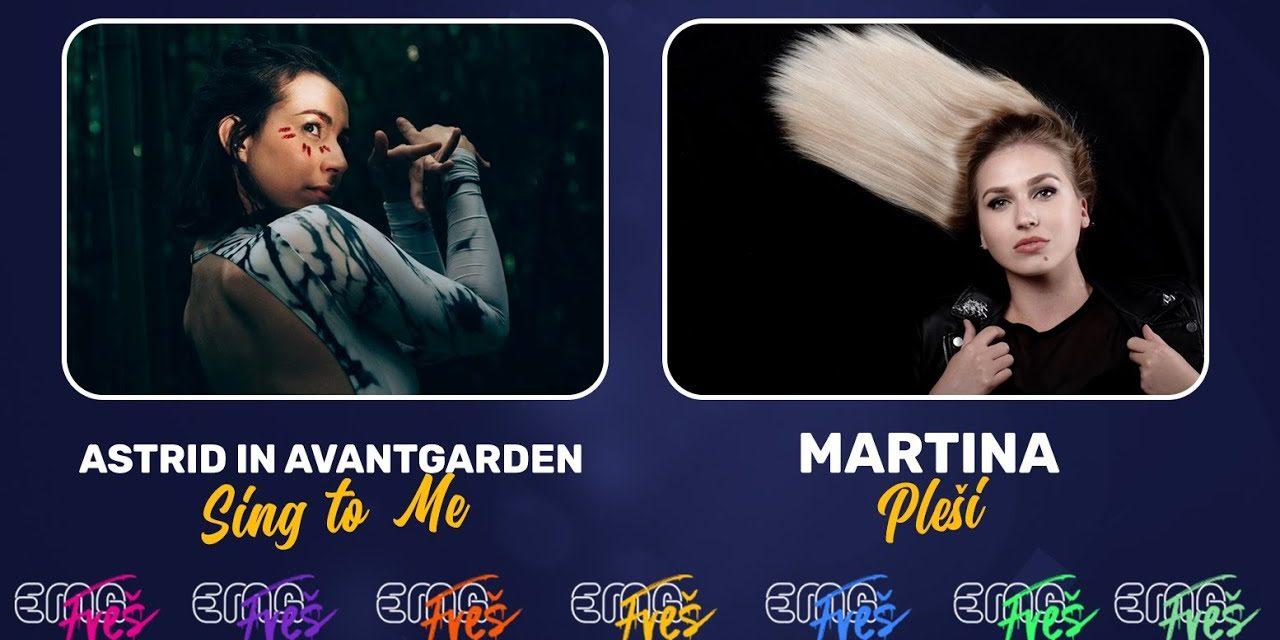 Slovénie 2020 – EMA FREŠ : Astrid in Avantgarden ou Martina ? [Mise à jour: Martina remporte le duel 3]