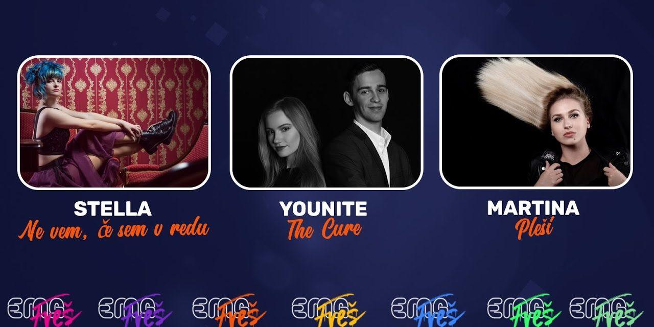 Slovénie 2020 – EMA FREŠ : finale de la semaine 1 [Mise à jour: Stella et Younite en finale]