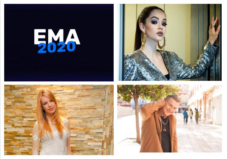 EMA 2020 : Portraits des artistes #1