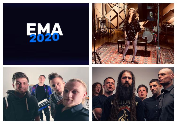 EMA 2020 : Portraits des artistes #2