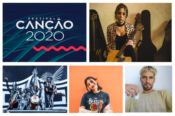 Festival da Canção 2020 : Portraits des artistes #1