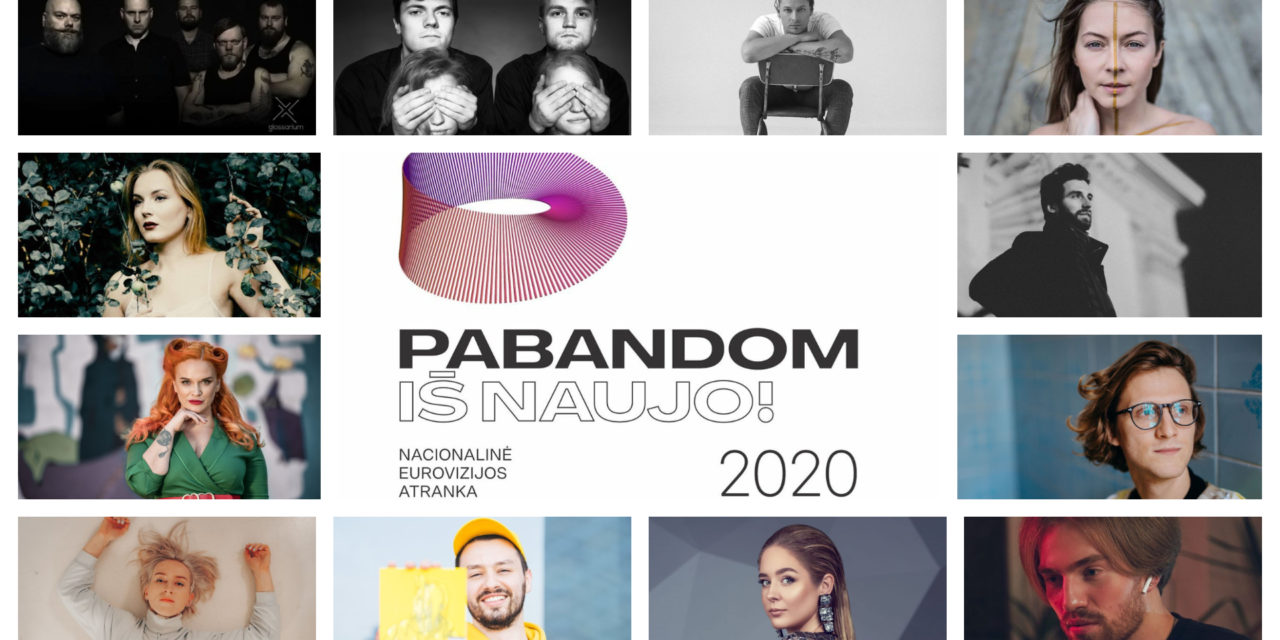 Eurovizijos atranka 2020 : présentation des participants #1