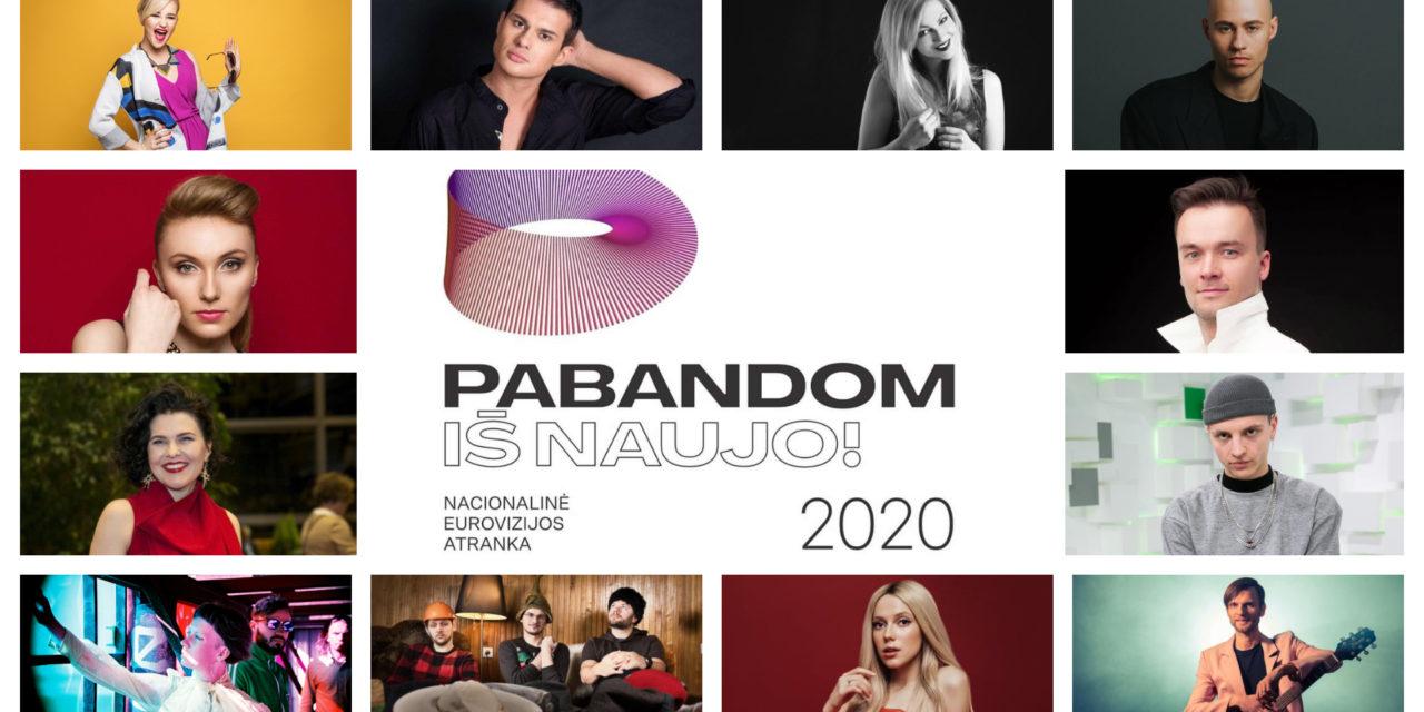 Eurovizijos atranka 2020 : présentation des participants #2