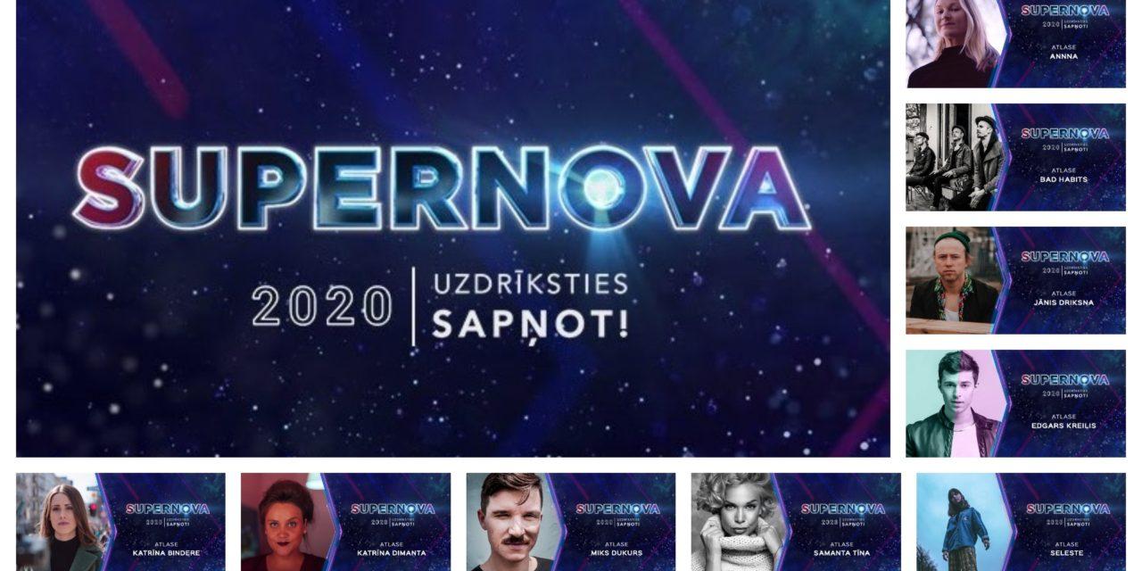 Supernova 2020 : Loreen et sondage
