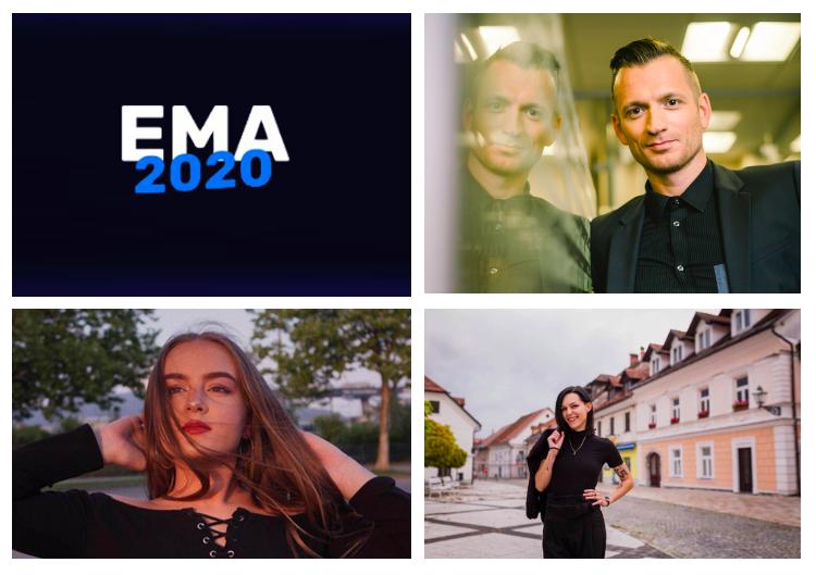 EMA 2020 : Portraits des artistes #3