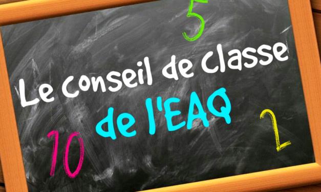 Le Conseil de classe de l'EAQ #22 : Serbie