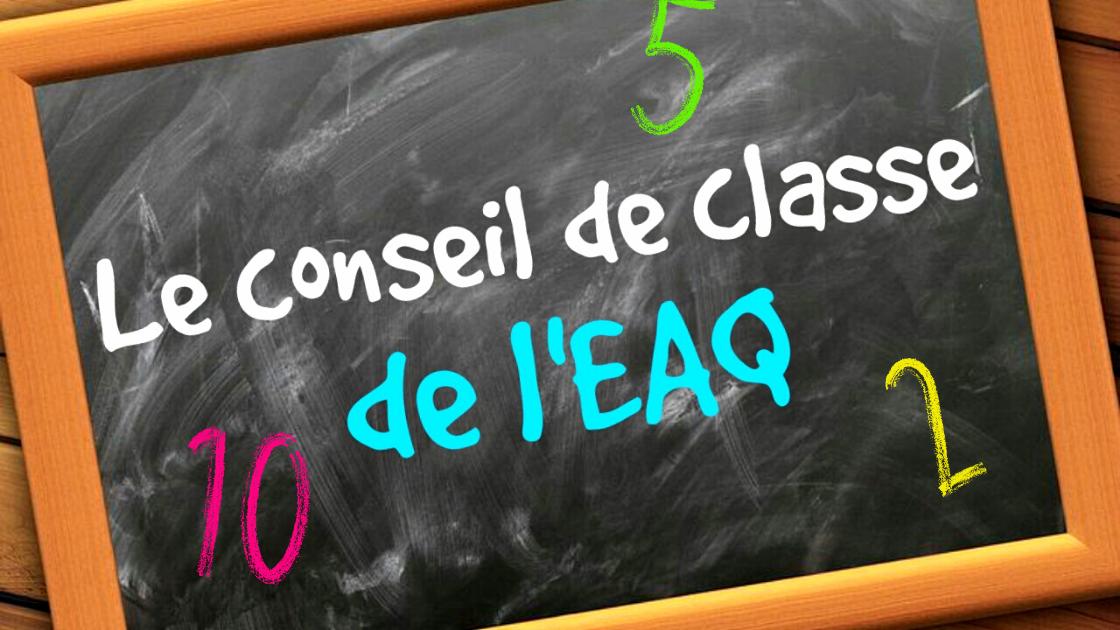 Le Conseil de classe de l'EAQ #32 : Irlande
