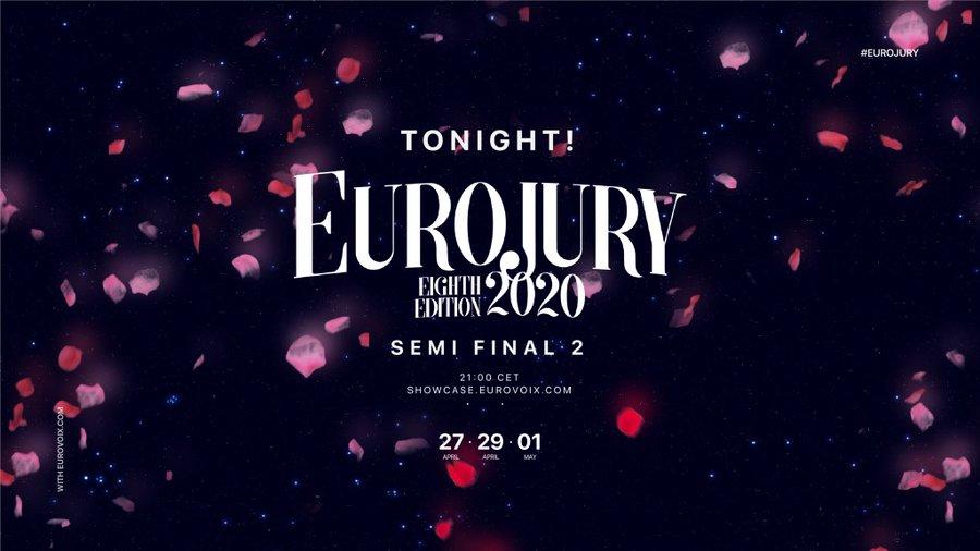 Ce soir : deuxième demi-finale de l'Eurojury 2020 (Mise à jour : qualifiés)