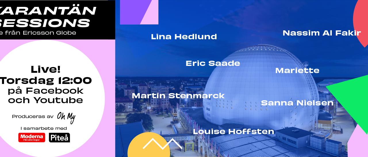 Karantänsession live : Lina Hedlund et les eurostars suédoises à l'honneur