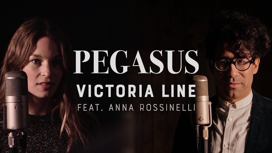 Découvertes : Le nouveau single de Pegasus & Anna Rossinelli «Victoria Line»