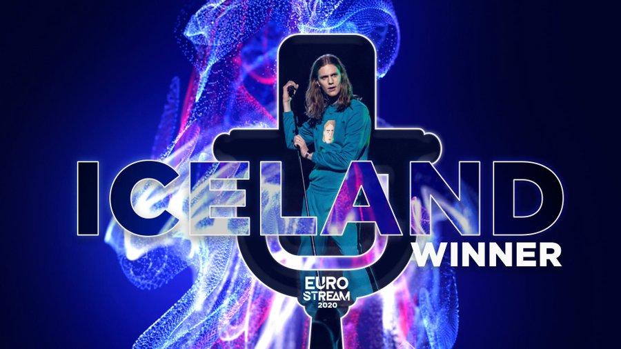 Eurostream 2020 : victoire de l'Islande