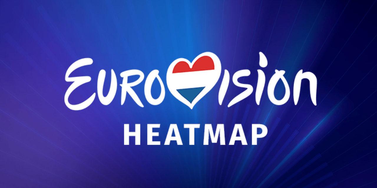 Eurovision Heatmap : à vos comptes Spotify !