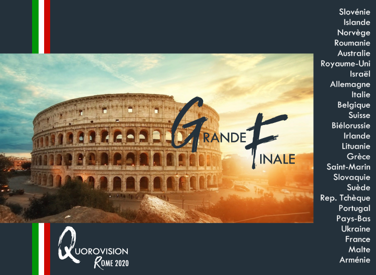 Quorovision 2020 : Grande Finale