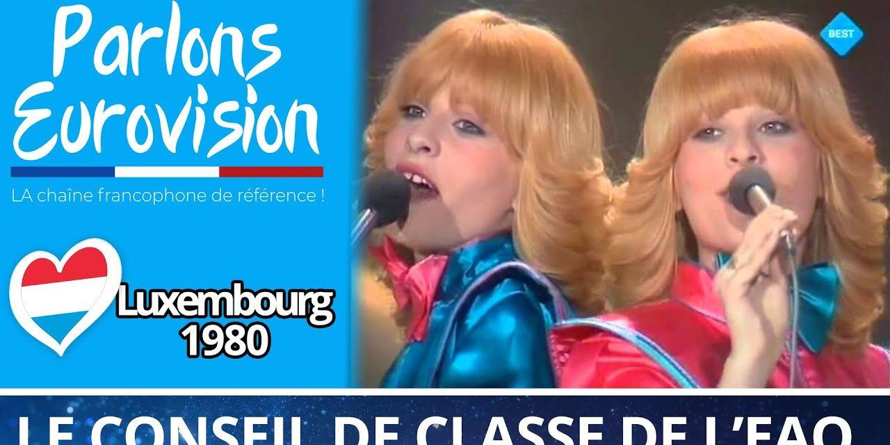 Le conseil de classe vintage : Luxembourg 1980