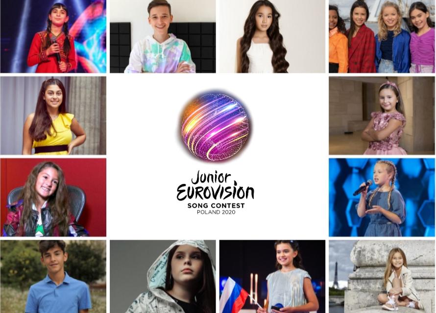 Eurovision Junior 2020 : nos favoris ! Le podium final de la rédaction !
