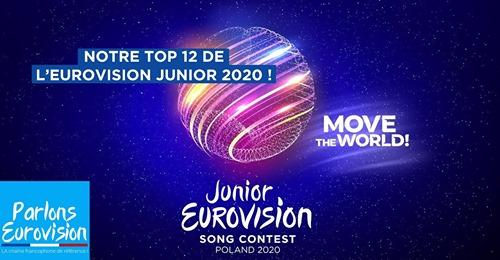 Le Conseil de Classe de l'EAQ : Eurovision Junior 2020