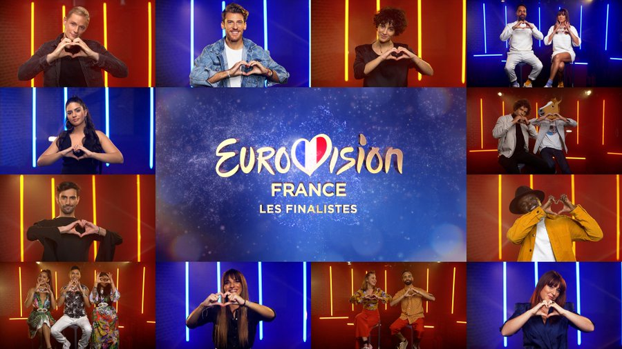 Eurovision France, c'est vous qui décidez : découvrez les versions studio (Mise à jour : «Paris me dit» d'Ali)
