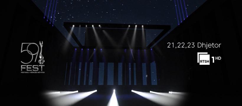 Festivali i Këngës 2020 : dates et premières images