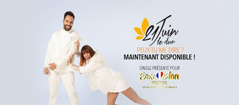 Eurovision France, c'est vous qui décidez : interview de 21 Juin Le Duo