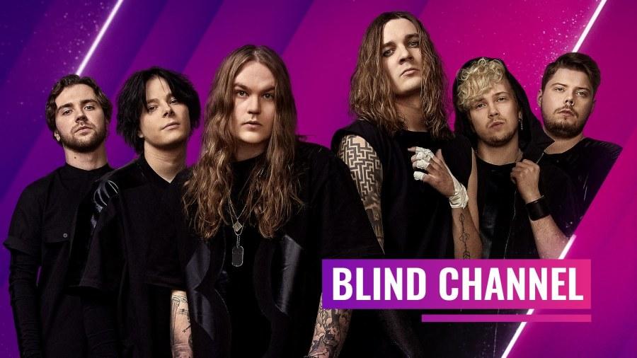 Eurovision 2021 : Blind Channel en interview !