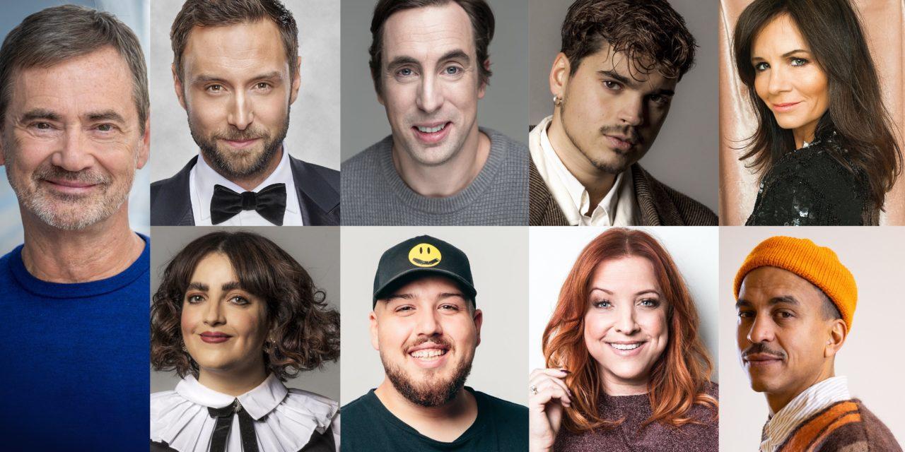 Melodifestivalen 2021 : annonce des présentateurs (Mise à jour : Pernilla Wahlgren co-présentatrice)