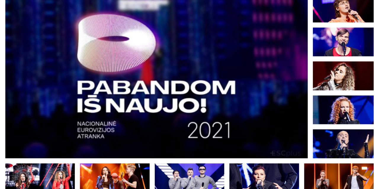 Ce soir : première éliminatoire de l'Eurovizijos atranka (Mise à jour : résultats et récapitulatif)