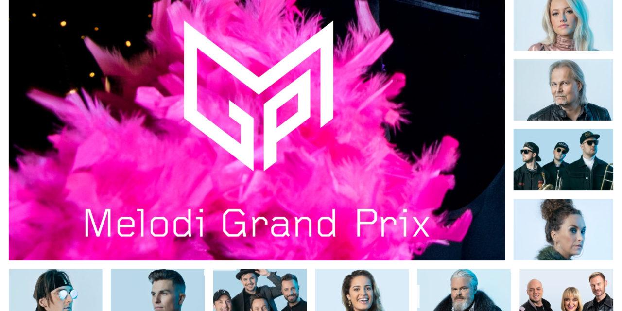 Melodi Grand Prix 2021 : présentation des premiers participants