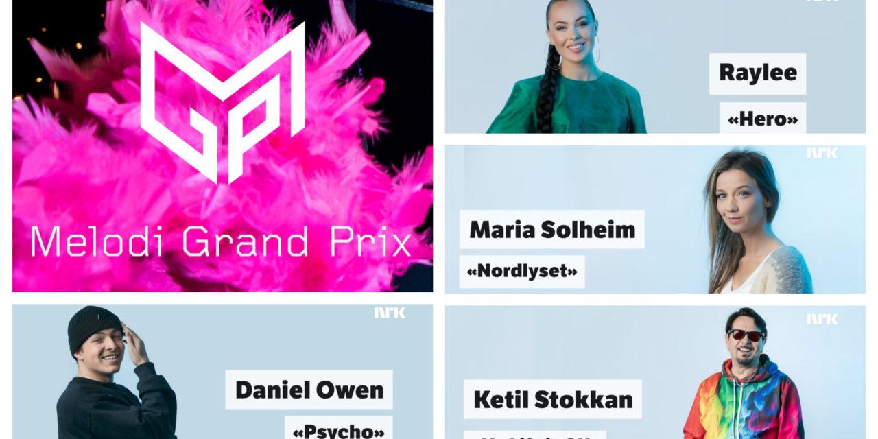 Ce soir : deuxième demi-finale du Melodi Grand Prix (Mise à jour : résultats et récapitulatif)