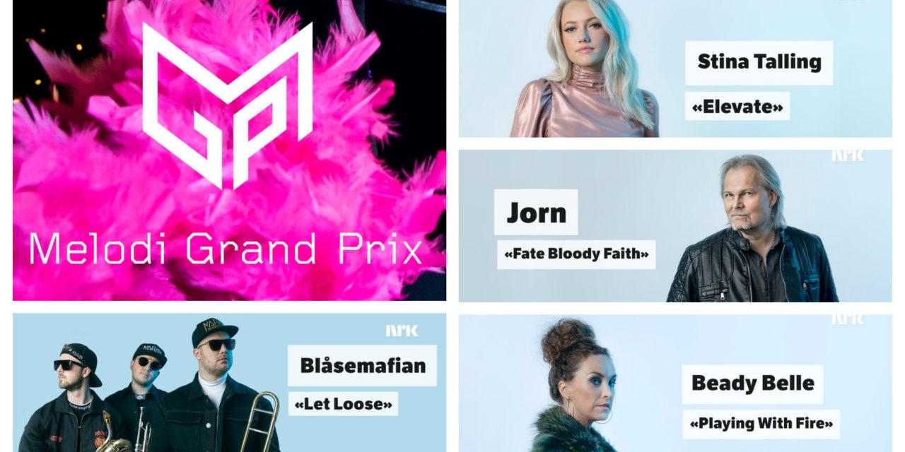 Ce soir : première demi-finale du Melodi Grand Prix (Mise à jour : résultats et récapitulatif)