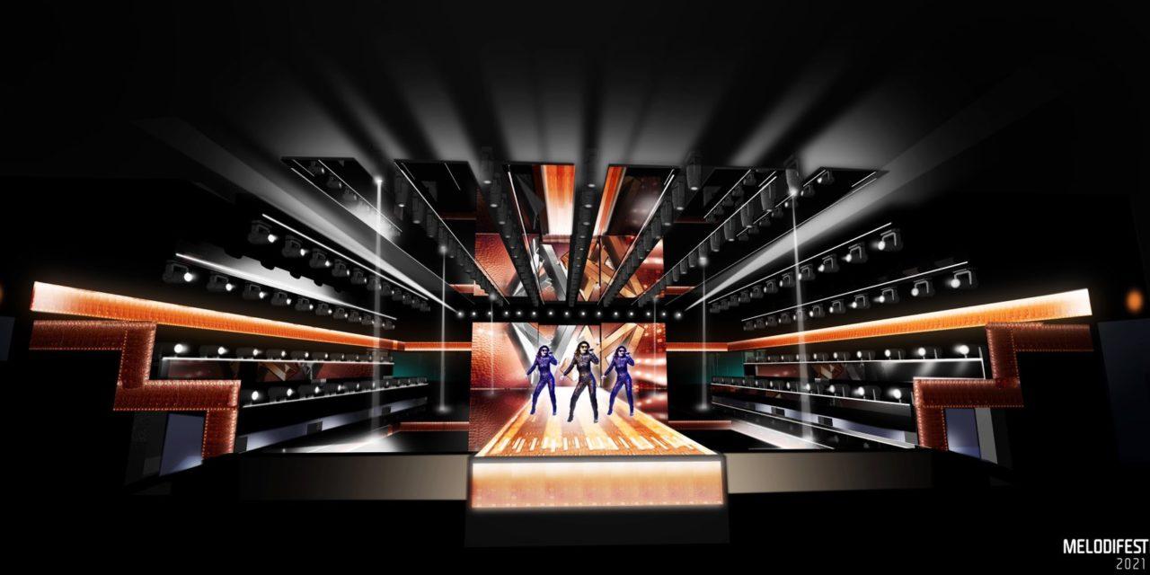 Melodifestivalen 2021 : présentation de la scène