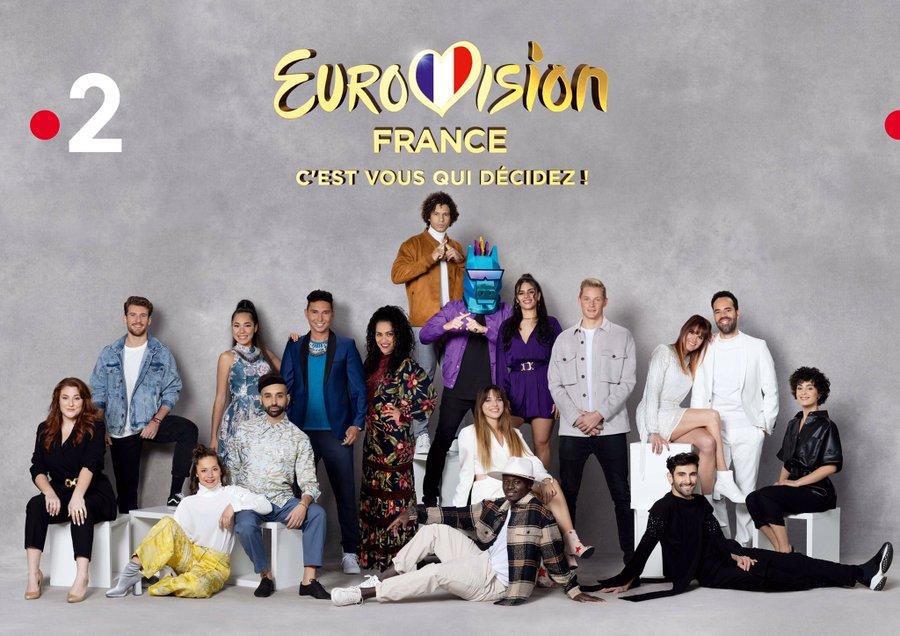 Ce soir : Eurovision France, c'est vous qui décidez (Mise à jour : résultats)