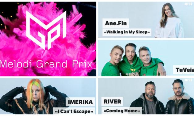 Ce soir : cinquième demi-finale du Melodi Grand Prix (Mise à jour : résultats et récapitulatif)