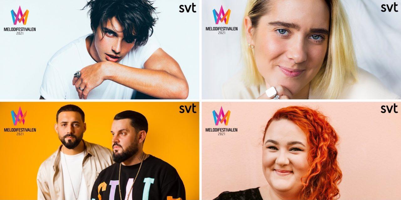 Melodifestivalen 2021 – 2ème demi-finale : portraits des candidat.e.s (1/2)