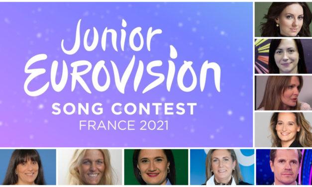 Eurovision Junior 2021 : renouvellement partiel du Groupe de Référence